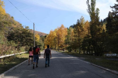 Sur les hauteurs d'Almaty